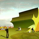 Erweiterung des Parks Danfoss Universe<br /> Jürgen Mayer H., Nordborg (Dänemark). 2007