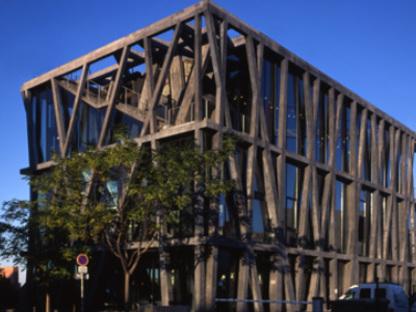 Pavillon Noir Aixenprovence Rudy Ricciotti 2006 Floornature
