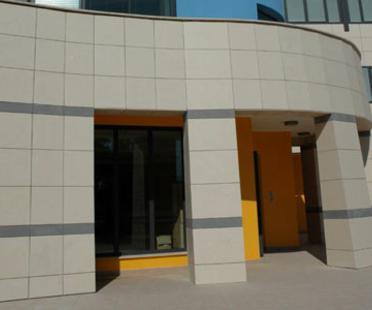 I.C.O.T. Altersheim mit hinterlüfteter Fassade