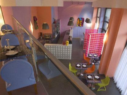 Ristorante Blue Ginger, Atelier Mendini, Mailand 2008