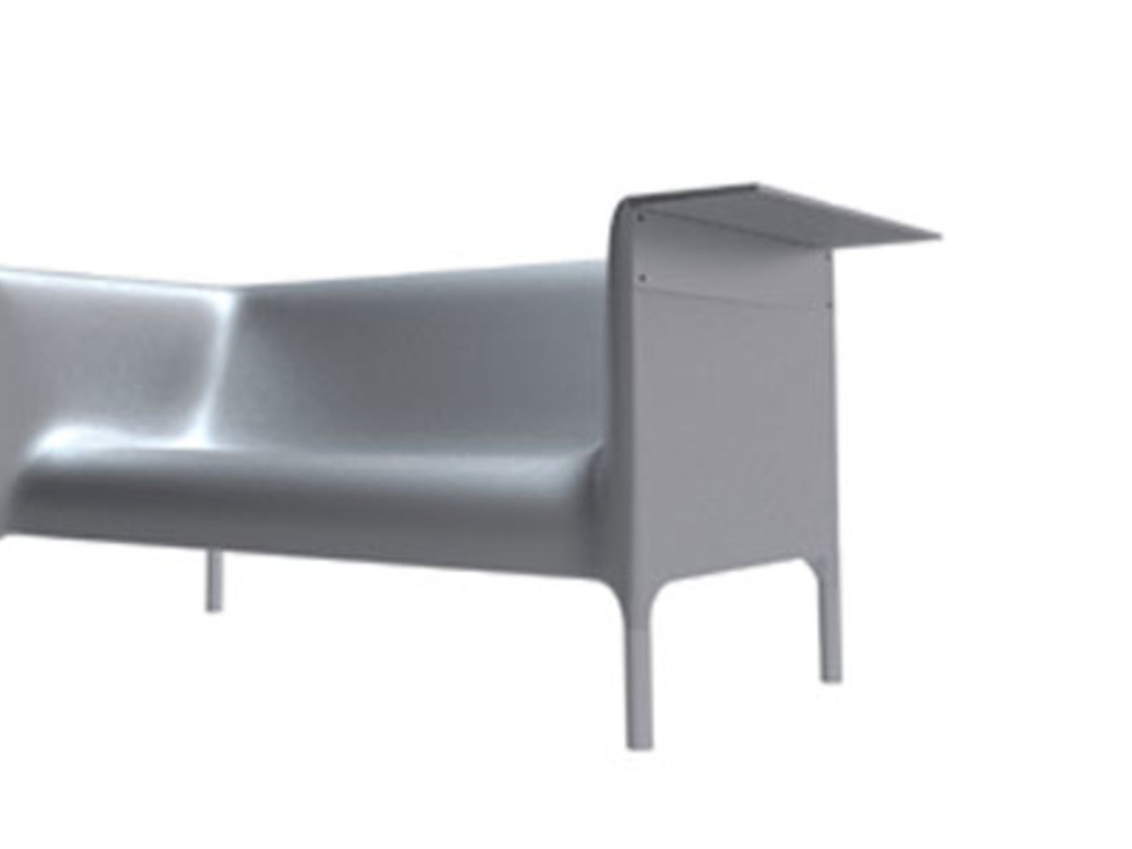 Out/In, Sofa, Hoher Sessel, Niedriger Sessel, Philippe Starck Mit Eugeni
