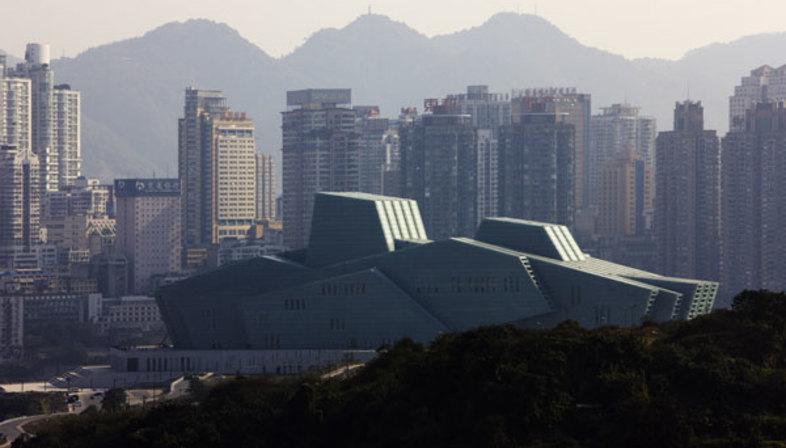 Gmp und das Grand Theater, Wahrzeichen von Chongqing