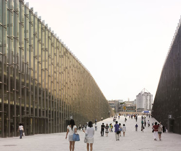 Perrault e la Ewha Womans University di Seoul