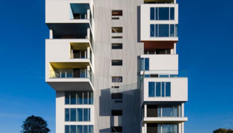 C. F. Møller: Umbau eines Silos in Wohnhaus