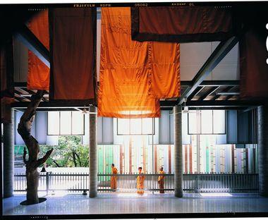 Ein Museum des buddhistischen Tempels in Thailand