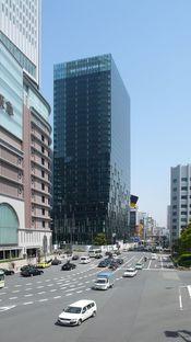 Perrault und der Fukoku-Tower in Osaka