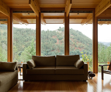 Una casa di legno nella riserva di Gerês