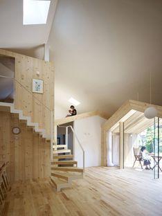 Yoshichika Takagi: Holzhaus in Sapporo