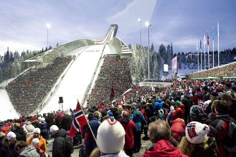 World Cup Nordic Oslo 2011: Ski Jump von JDS