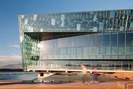 Larsen und Eliasson: Auditorium in Reykjavik