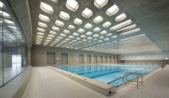 Zaha Hadid: Aquatic Centre in London