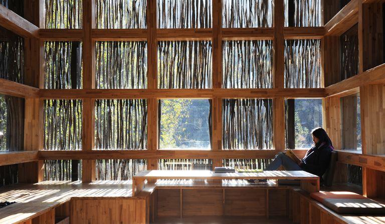 Li Xiaodong: Bibliothek im Wald