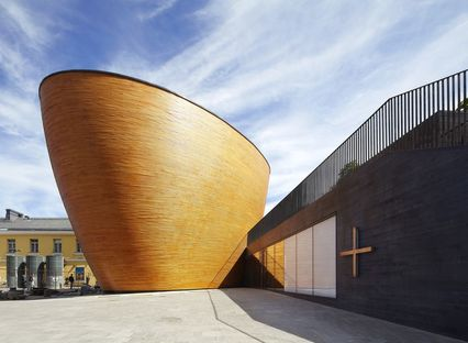 K2S Architects: Kamppi Chapel in Helsinki