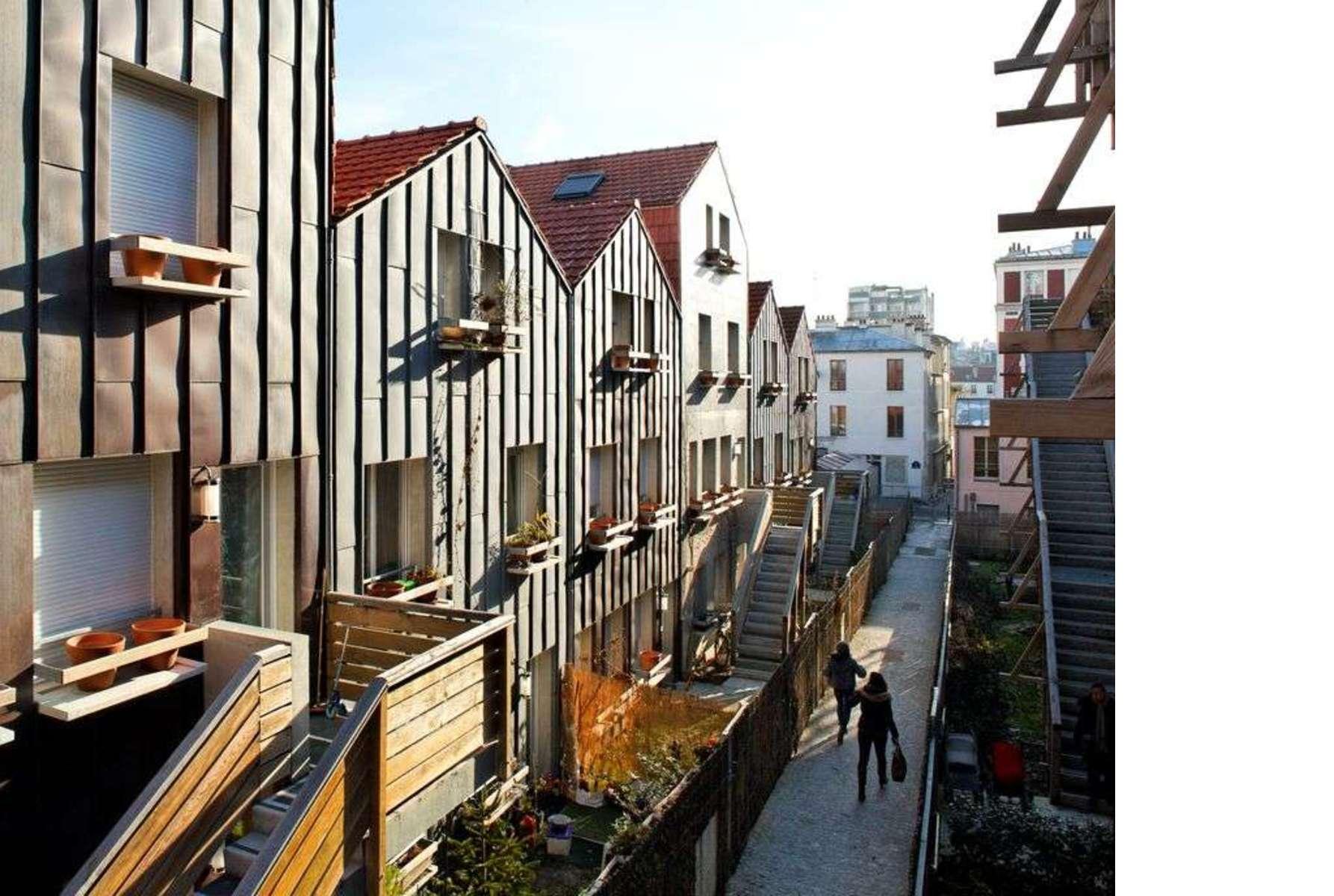 François: Wohnungen und Ateliers Eden Bio in Paris