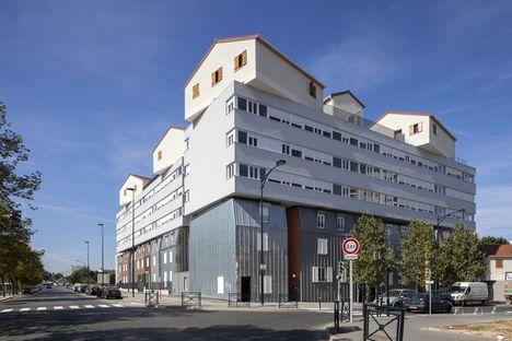 "François: ""Urban college"", Social Housing in Frankreich"
