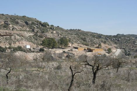 """Besucherzentrum für Höhlenmalereien """"Roca dels Moros"""""""