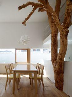 Ogawa: Natur und Architektur im Baumhaus mit Bäumen in Kagawa