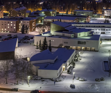 JKMM Architects: Zentralbibliothek von Seinäjoki, Finnland