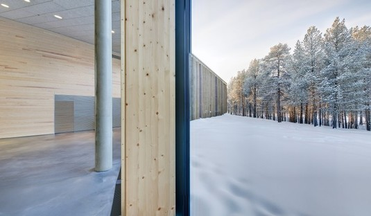 Halo Architects: Sami Cultural Center in Inari (Finnland)
