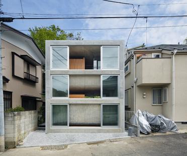 Takeshi Hosaka: Ein Haus auf einem Grundstück von 60 Quadratmetern in Yokohama