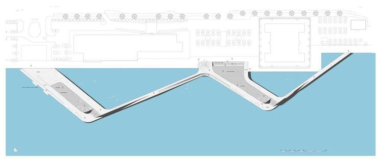 JDS (Julien De Smedt architects): Strandpromenade von Kalvebod Brygge in Kopenhagen