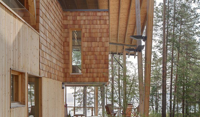 Koponen: Haus am Saimaa-See in Finnland