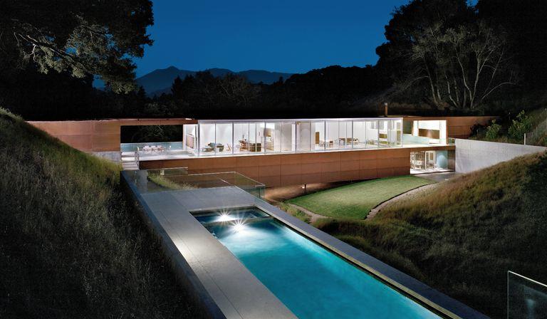 Saitowitz: casa a ponte in California