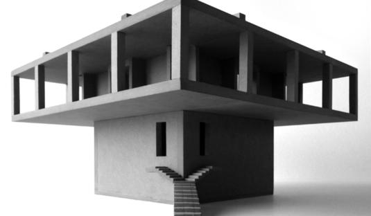 Pezo von Ellrichshausen: Solo House in Cretas, Spanien
