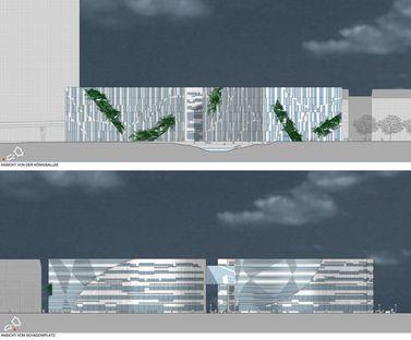 Kö-Bogen Düsseldorf Büroanlage von Daniel Libeskind
