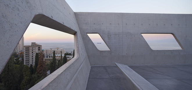 Issam Fares Institute for Public Policy von Zaha Hadid in Beirut