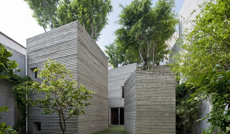 House for trees von Vo Trong Nghia Architects in Ho-Chi-Minh-Stadt