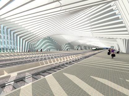 Stazione alta velocità, Santiago Calatrava