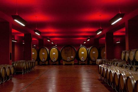 Weinkellereien und Design in Südtirol