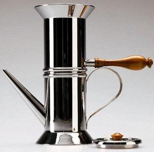 Neapolitanische Espressomaschine Alessi, Compasso d'Oro 1981