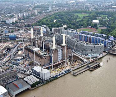 Fotografie inedite del Battersea Embankment Development, Londra