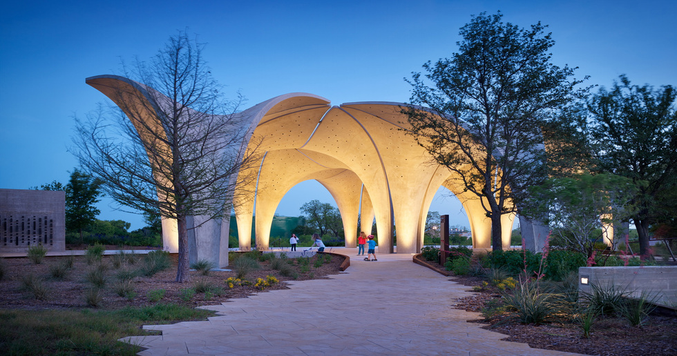2019 AIA Awards, Confluence Park by Lake Flato Architects