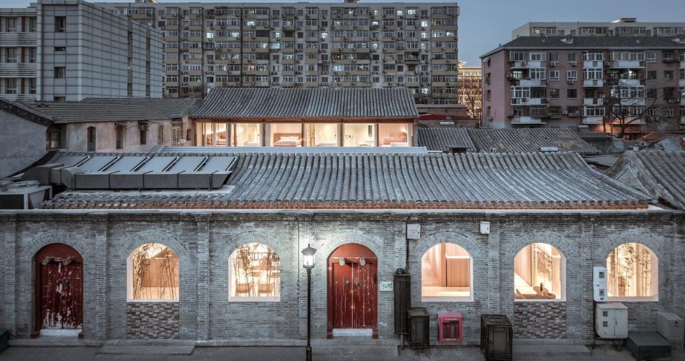 Layering Courtyard in Beijing by ARCHSTUDIO