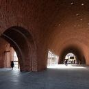 Imperial Kiln Museum di Studio Zhu-Pei, history and materials