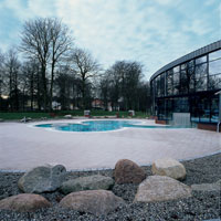 SPA & Wellness con rivestimenti in gres Eiffelgres