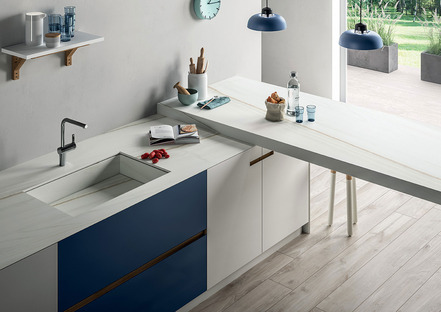 SapienStone: Die ideale Küchenarbeitsplatte ist aus Feinsteinzeug