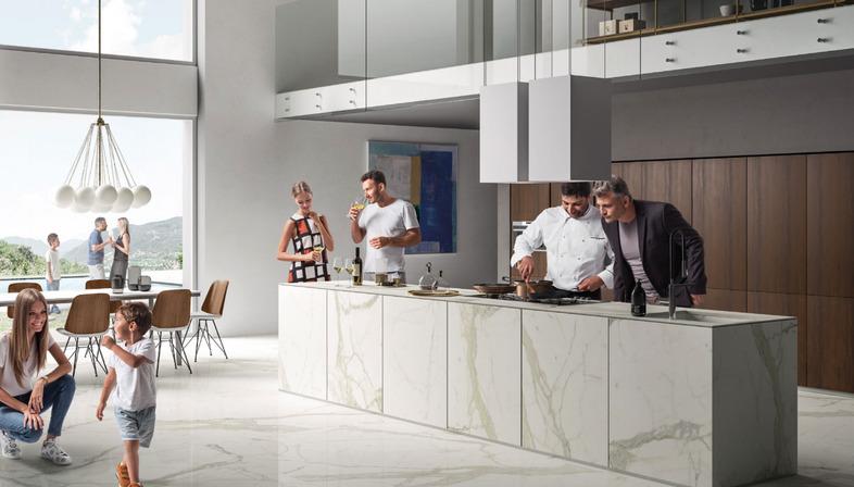 SapienStone: Die besten Feinsteinzeugflächen für Küchenarbeitsplatten