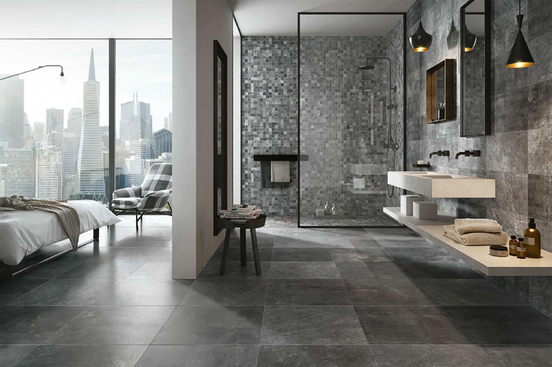 Urban living design: City und Mile_Stone von Porcelaingres