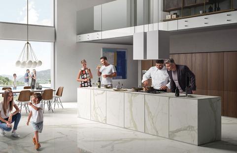 Küchenarbeitsplatten SapienStone: Die ideale Arbeitsfläche für Zuhause und für Restaurants