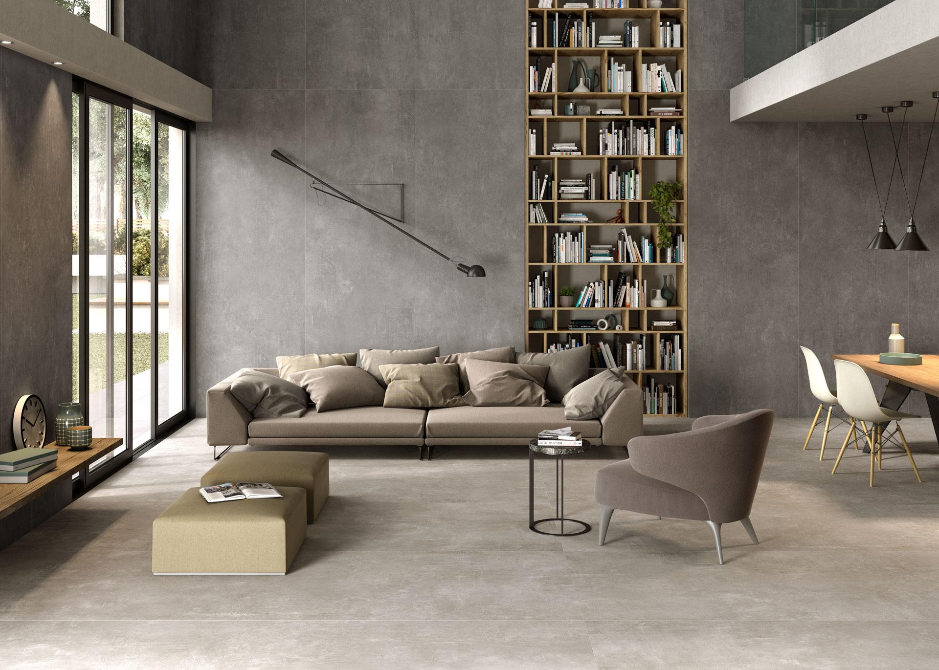 Urban Great Anthracite und Sand: Neue Verkleidungen im metropolitanen Stil