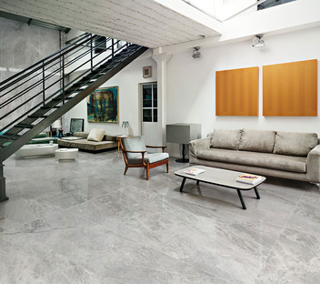 Ultra Marmi Ariostea: maximale Freiheit bei der Komposition von Fußböden und Wandverkleidungen