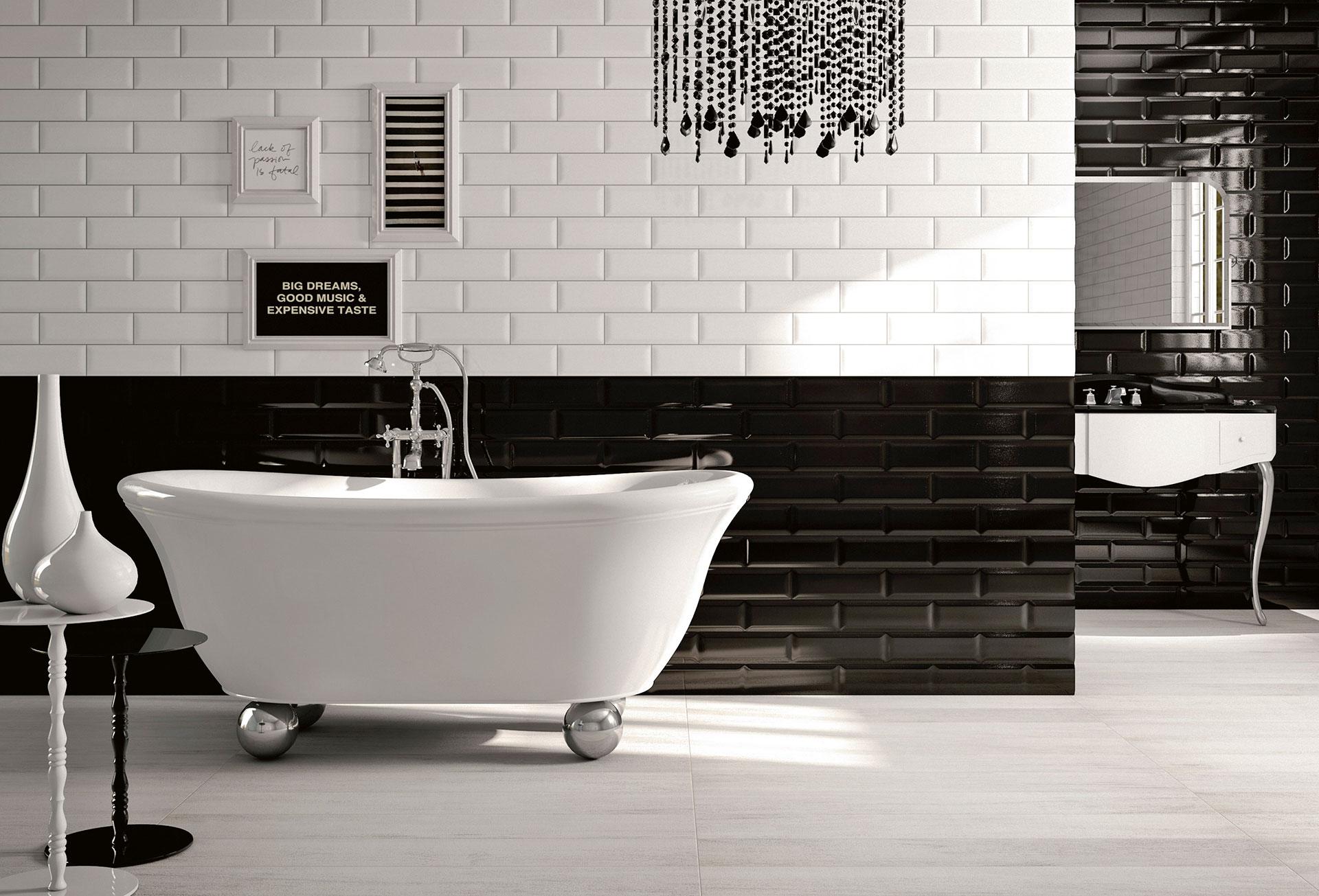Verkleidungen für Bad und Küche Adamas: neue Horizonte für die technische Keramik