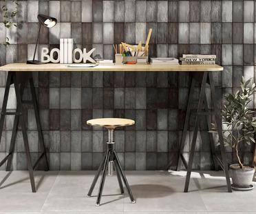 Iris Ceramica: Individuelle Wandgestaltung mit den Belägen Quayside und Lol