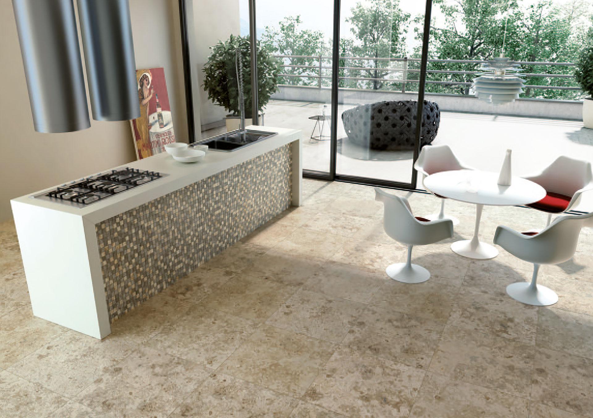 Porcelaingres: Hochwertige Keramikfliesen in Steinoptik