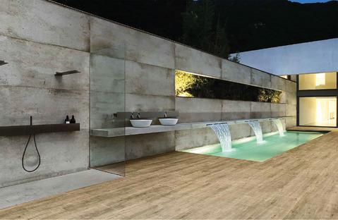 CM2 Ariostea: Oberflächen aus Feinsteinzeug für Außenanlagen
