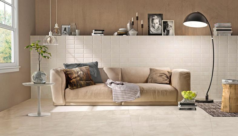 Marmi 3.0 Iris Ceramica für zeitgenössische Fußböden und Wandverkleidungen